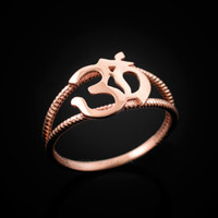 Rose gold OM ring