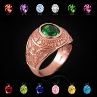Rose Gold U.S. Army Ring