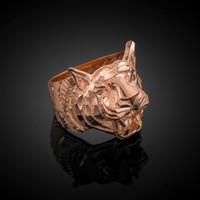 Rose Gold Tiger Ring