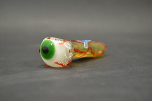 4 in. Optometrist Hand Pipe by Chameleon Glass