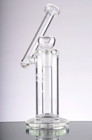 8 in. Burner Sidecar Bubbler with Fixed Diffused Downstem