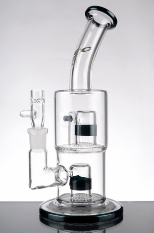 9.5 in. Toro Bubbler with Double Frothilator Percs - Green Accents