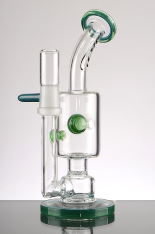 7 in. Toro Bubbler with Jet Perc- Green Accents