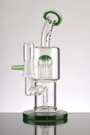 6.5 in. Toro Bubbler with Shrub Perc and Diffuser - Dark Green  Accents
