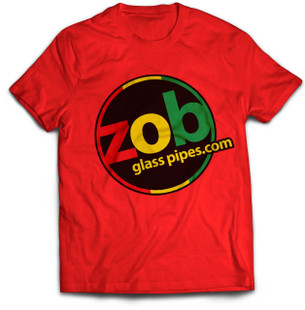 Zob Rasta T-shirt on Red