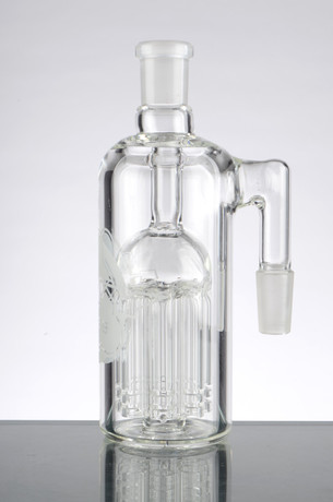 HVY Ash Catcher with 8 Arm Tree Perc - 14mm, 90 Degrees