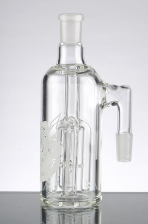 HVY Ash Catcher with 4 Arm Tree Perc - 14mm, 90 Degrees