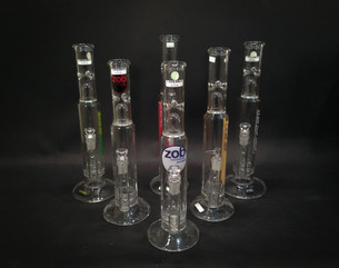 17 Inch Zob Stemless Tube with Zobello Percolator-Image 1