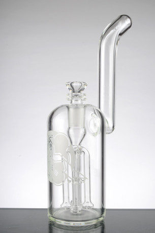 11 in HVY Bubbler with 4 Arm Shower Tree Perc