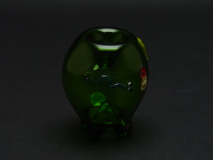 3 inch Chameleon Glass Apple-Image 1