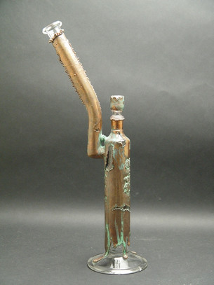 19 inch Toro and FYC Electroformed Mayan Bubbler with 8 arm tree diffuser-Image 1