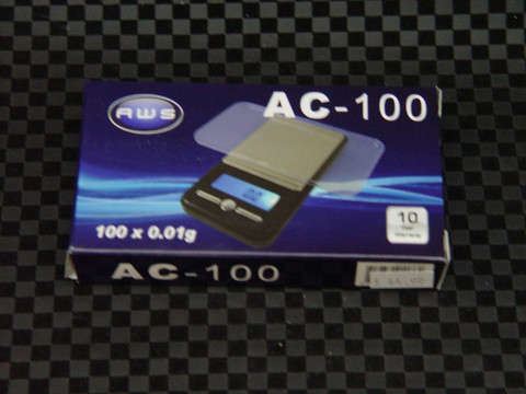 AC 100 Small Digital Tobacco Scale-Image 1