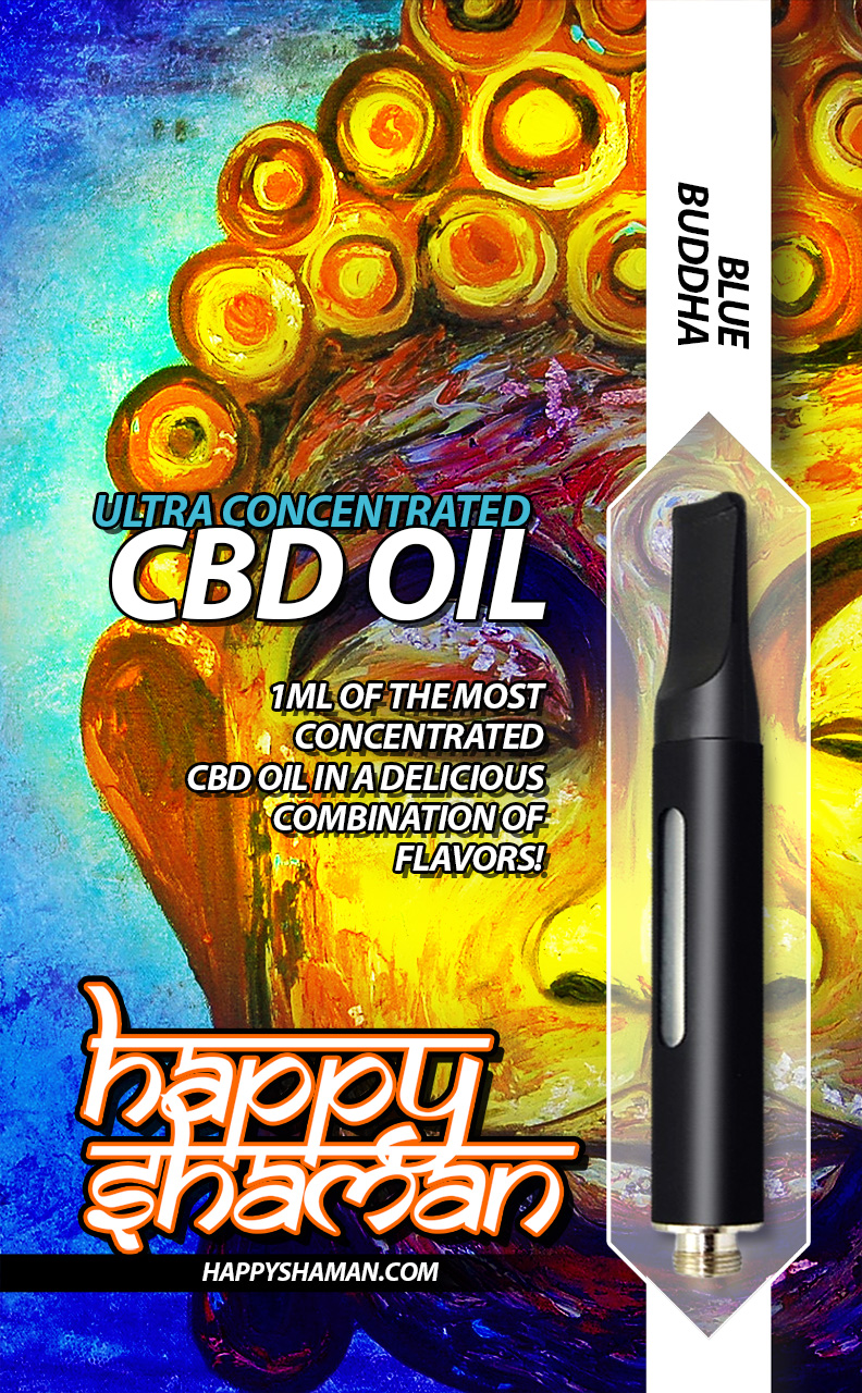 Happy Shaman CBD Oil Blue Buddha
