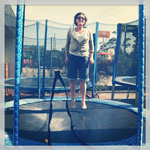 Anyone can have fun on a #PremierTrampoline!
