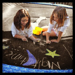 #chalk #summer #fun #premiertrampolines
