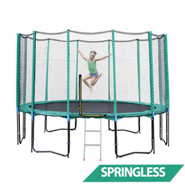 14ft Springless Trampoline