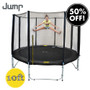 10ft Jump Trampoline With Net