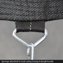 Jump Spring Trampoline 10ft with Safety Enclosure