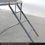 10ft Spring Trampoline with Net, Ladder & Basketball Hoop