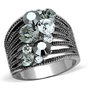 WOMEN'S AAA GRADE CRYSTAL COCKTAIL FASHION RING SIZE 5-10