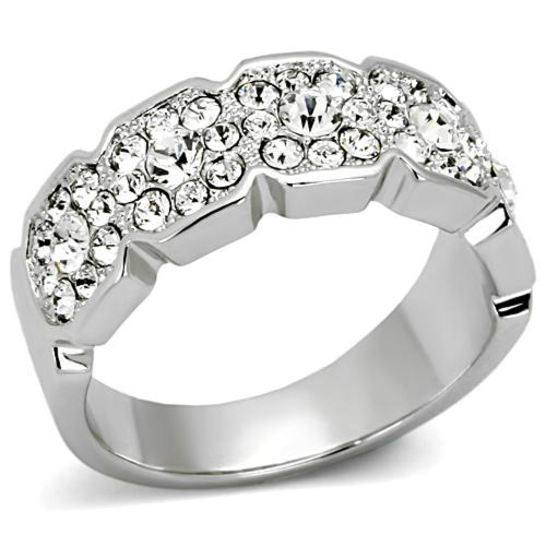 1.75 Ct Round Cut Crystals Cocktail Fashion Ring Women's Size 5-10