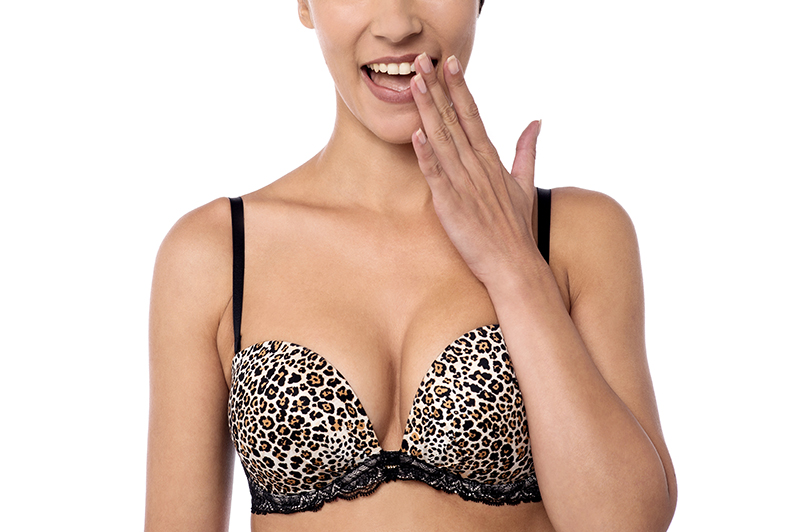 Double Scoop Leopard Shapewear