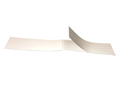 Double Scoop Fashion tape in double-sided strips.  Easy to peel.  Not sticky. Many uses. Red Carpet secret for bra and tops.