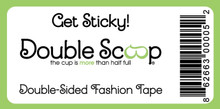 Buy this inexpensive Hollywood Secret that is easy to remove.  Fashion tape strips for under $5.  Double-sided.