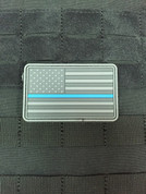 Ten-82 Thin Blue Line Flag Morale Patch