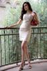 Golden Shimmer Mini Dress