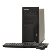 Lenovo IBM Tower Windows 7 C2D 3.0GHz  Desktop Computer 4GB 1TB WiFi DVDRW
