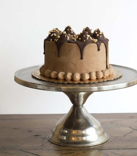 Peanut Butter Cup Baked Cake