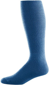 Navy Soccer Game Socks