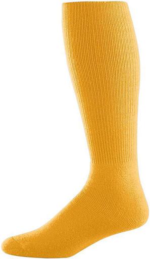 Gold Football Game Socks