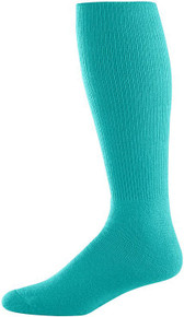 Teal Football Game Socks