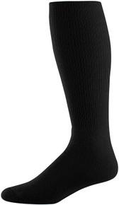 Black Baseball Game Socks