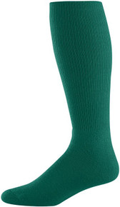 Dark Green Baseball Game Socks