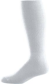 Silver Grey Baseball Game Socks