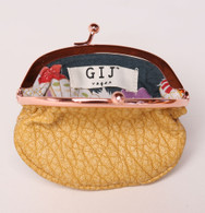 Sunset Coin Purse Yellow
