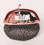 Sunset Coin Purse Black