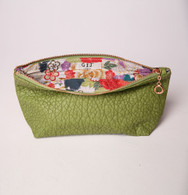 Laurel Canyon Pouch Apple Green