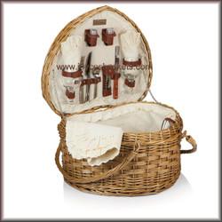 Heart Picnic Basket