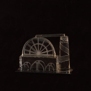 Small Glass Laxey Wheel