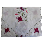 Isle of Man Fuchsia with 3 Legs Table Runner