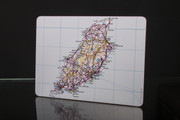 Isle of Man Map Table Mats