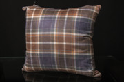 Manx Hunting Tartan Cushion