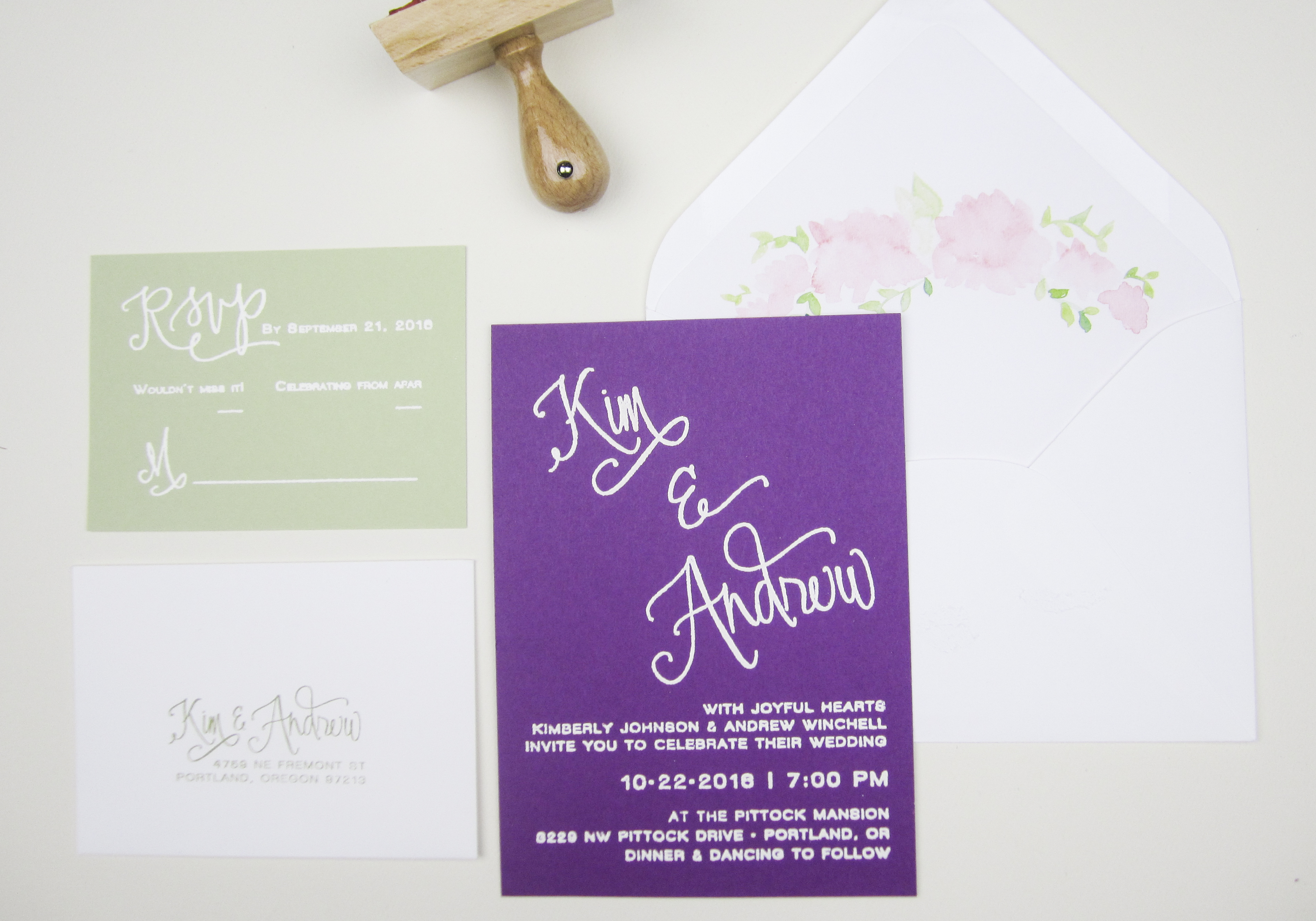 styling paper sushi s calligraphy wedding suite papersushi