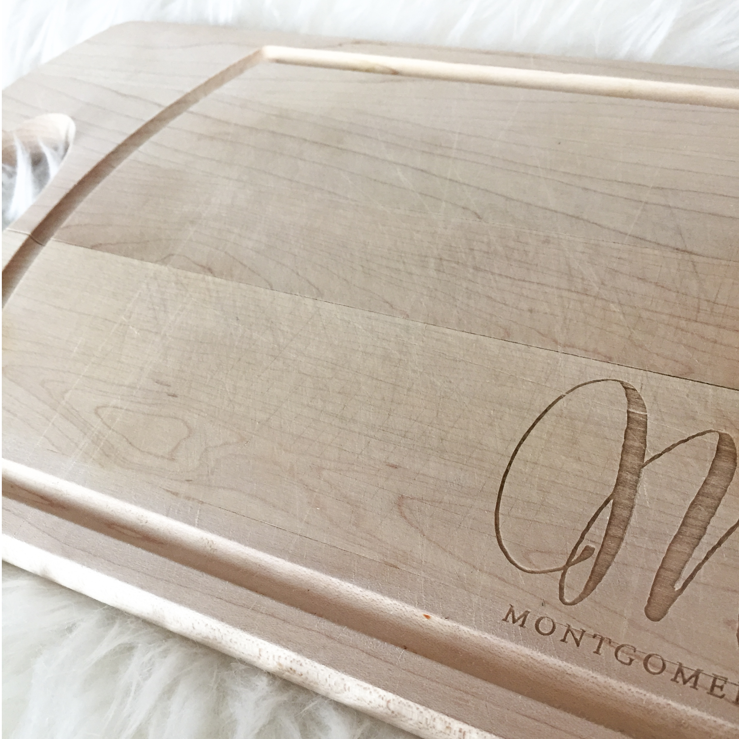 Monogram Cutting Board