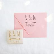 Monogram Stamp - Arrow