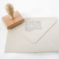 Tree Address Stamp